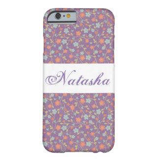 Monogram Purple Floral Cute Sweet Phone Case