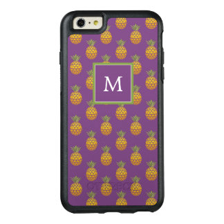 Monogram | Purple Pineapples OtterBox iPhone 6/6s Plus Case