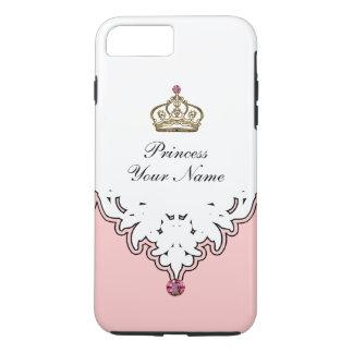 Monogram Queen Crown iPhone 8 Plus/7 Plus Case