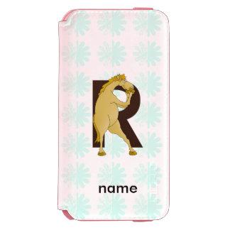 Monogram R Agile Pony Personalised Incipio Watson™ iPhone 6 Wallet Case