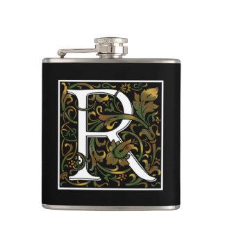 Monogram R Color Flask