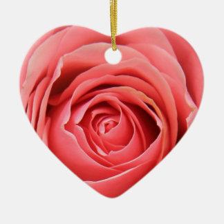Monogram Rose ornament