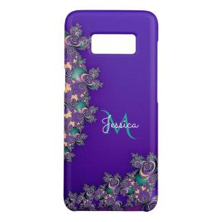 Monogram Royal Purple Fractal Case-Mate Samsung Galaxy S8 Case