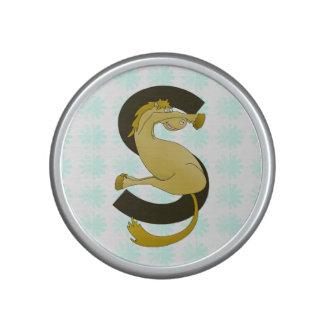 Monogram S Flexible Horse Personalised Bluetooth Speaker