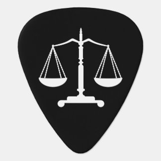 Monogram Scales of Justice Guitar Pick