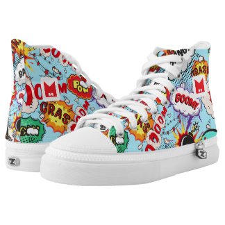 Monogram Series: Comics Pattern. High Tops