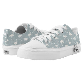 Monogram Series: Flamingo Silhouette. Low Tops