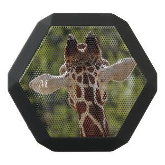 Monogram Series: The Giraffe. Black Bluetooth Speaker
