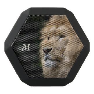 Monogram Series: The Lion. Black Bluetooth Speaker