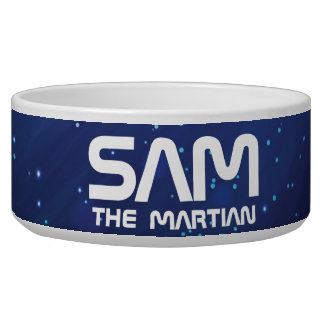 Monogram Series: Your Pet The Martian. Funny Gift.