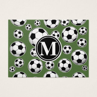 Monogram Soccer - Tree Top