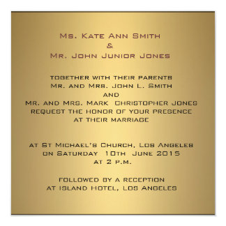 Monogram sophisticated Wedding Invitation Template