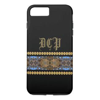 Monogram Steampunk Goth Ornate Gothic CricketDiane iPhone 7 Plus Case