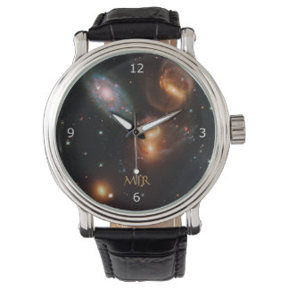 Monogram Stephans Quintet deep space star galaxies Watch