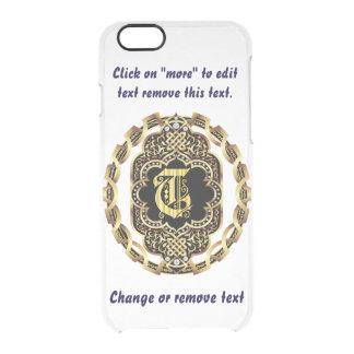 Monogram T iPhone 5/5s & 6-6 plus  Deflector Case