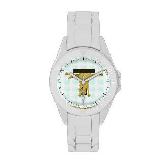 Monogram T Pony Horse Personalised Watches