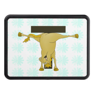 Monogram T Pony Horse Personalised Hitch Cover