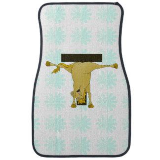 Monogram T Pony Horse Personalised Floor Mat
