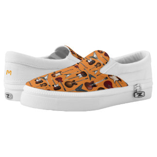 Monogram. The Guitar Collection. Slip-On Shoes