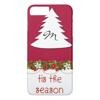 Monogram Tis The Season Holiday Phone Case