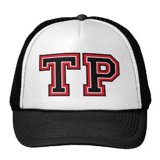 Monogram 'TP' initials Hats