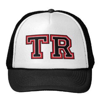 Monogram 'TR' initials Hats