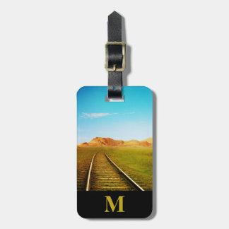 Monogram Travel Southwest Railroad Tracks Luggage Tag