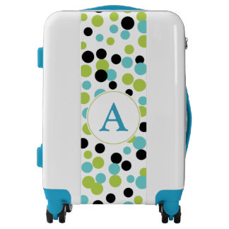 Monogram Turquoise Lime Luggage