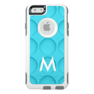Monogram Turquoise Pattern OtterBox iPhone 6/6s Case