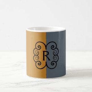 Monogram Two Tone Coffee Mug