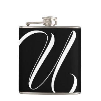 Monogram U Flask