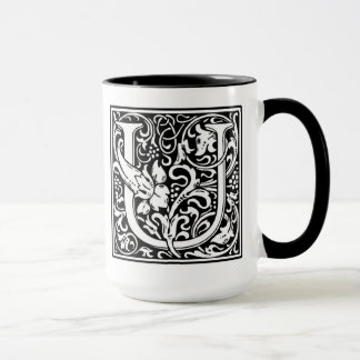 Monogram U Mug