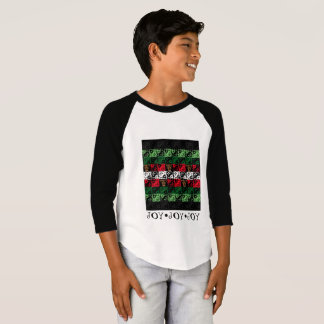 Monogram Ugly Sweater Winter Holiday Boy Shirt