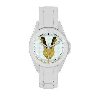 Monogram V Cute Horse Personalised Wristwatch