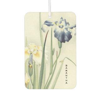 Monogram Vintage Japanese Iris Air Freshener