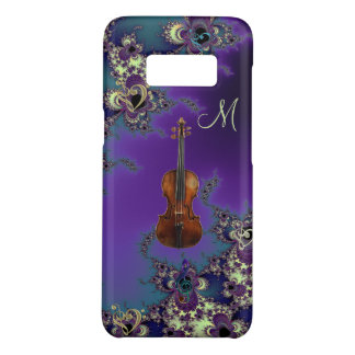 Monogram Violin Love Music Samsung Galaxy S8 Case