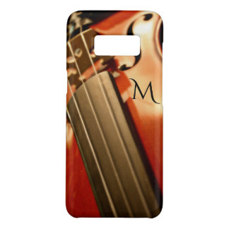 Monogram Violin Music Case-Mate Samsung Galaxy S8 Case