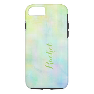 Monogram watercolor iPhone 8/7 case