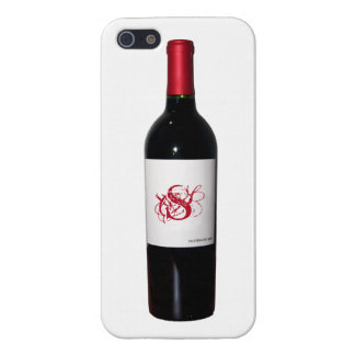 Monogram Wine Bottle iPhone 5 Case