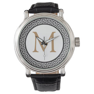 MONOGRAM | with meandros, greek fret Watch