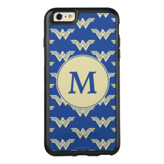 Monogram Wonder Woman Logo Pattern OtterBox iPhone 6/6s Plus Case