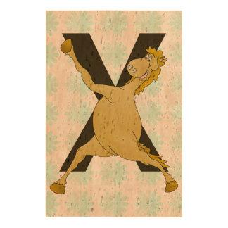 Monogram X Agile Pony Customised Queork Photo Print