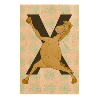 Monogram X Agile Pony Customised Cork Paper