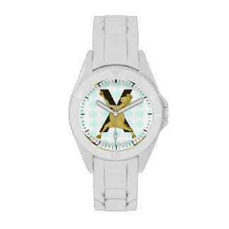 Monogram X Agile Pony Customized Wrist Watches