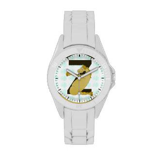 Monogram Z Funny Pony Customized Wrist Watches
