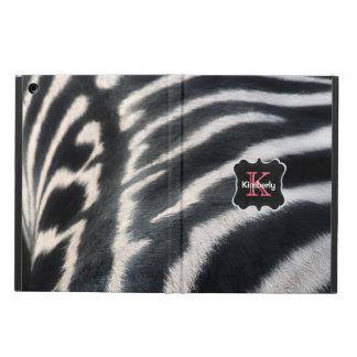 Monogram Zebra Case For iPad Air