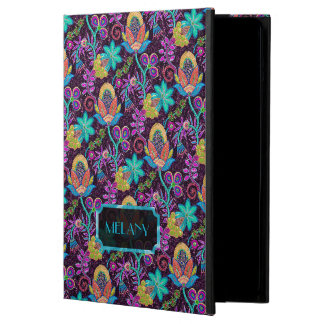 Monogramed Colorful Glass Beads Floral Design 2 iPad Air Cases