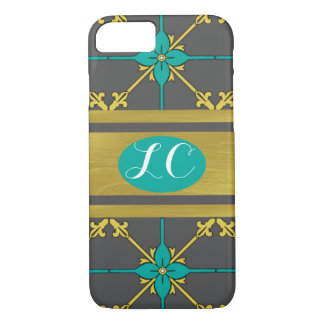 Monogramed Phone Cover - Vintage Meets Modern