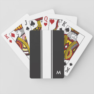 Monogramed Playing Cards
