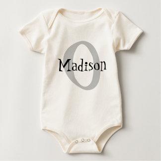 Monogrammed Baby Bodysuit